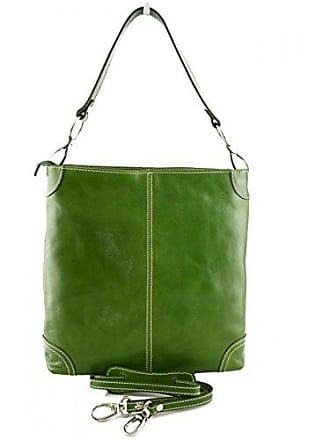 Italienische Grün Lederwaren Damentasche Leder Made Schultertasche Bags Italy In Dream Damen Leather Farbe nzgU1wwvq