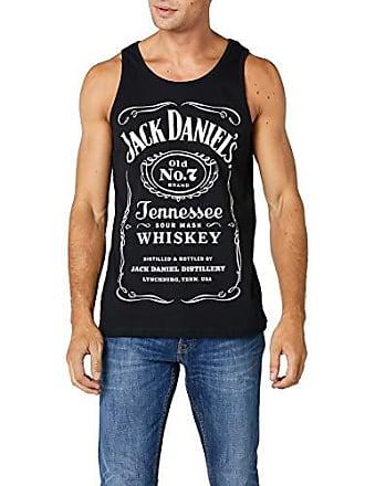 Para large No Hombre Old Logo Daniels Mangas Camiseta Daniel Negro Jack Sin X 7 Brand wZxg4Bqa