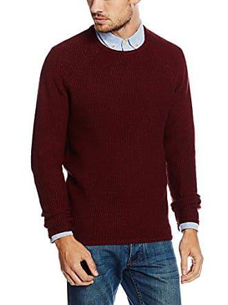 rvlt bordeaux Homme Knit Rouge Pattern Pull Revolution zn1vp6qw6