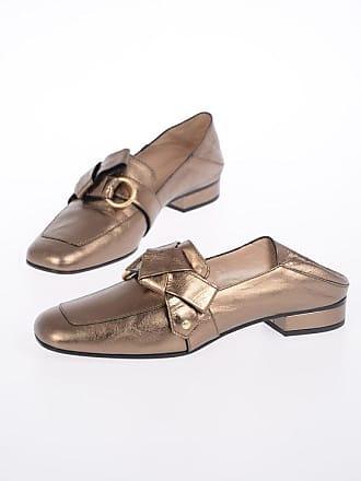 5 37 Chloé Metallic Leather Loafers Size ul1KTFJc3