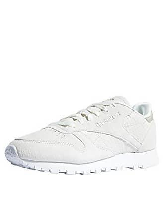 chalk Femme Fitness Reebok slee 37 De Chaussures Lthr emb Multicolore white Cl Eu 0 zawXR
