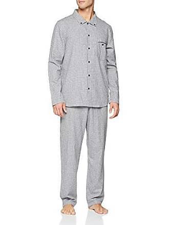 Flanell Lang Zweiteiliger Schlafanzug Seidensticker Pyjama Herren oxeCWrdB