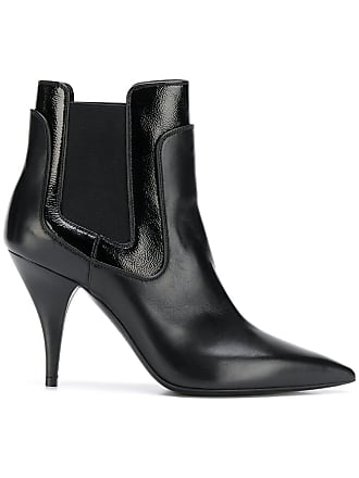 Pointu Noir Casadei Bottines Bout À nWaPra