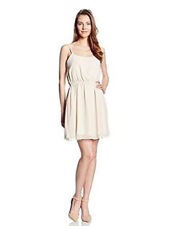 London 10 Es 38 Crema Vestido uk Rare 6dpHqg6