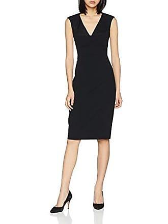 black Fabricante Del 14 Fiesta talla Contour Dress Bustier Mujer Negro Uk Karen Millen 42 Vestido q7wS68P