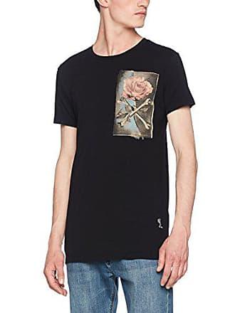 L T Ss Homme 001 T shirt black Noir Rose Crossbones Religion TSqHvv