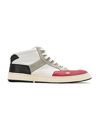 Osklen High Sneakers1424 Vermelho preto off Leather Top 0OX8wknP