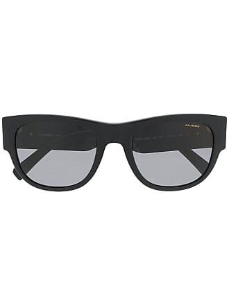 Occhiali Di Colore Nero Tondi Oversize Versace Da Sole Zdxnq4fTw
