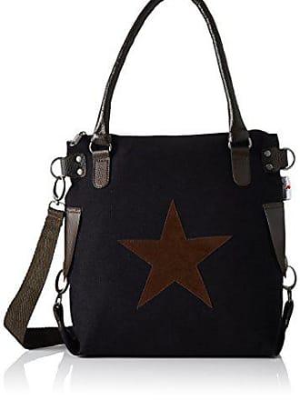 Hombro H b X Cm Mujer Color mini Bags4less Lona De Bolso Stern Negro 32x34x44 Talla T w767xTqI