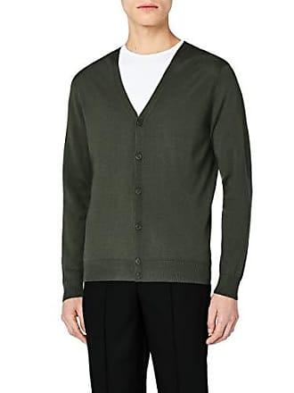 V Cardigan Homme Large Meraki Laine Mérinos Avec Vert khaki En Col W0p1qRUw41
