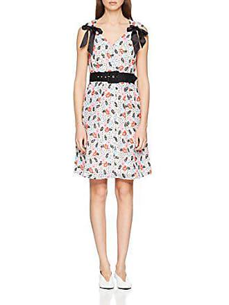 Blanc Vestido Summer Floral 36 Mujer Robe Para Manoush qpxYnTwZBv
