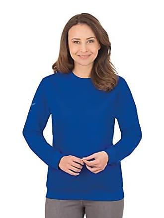 Trigema small 574501 Mujer Azul 164 Del royal talla Para Fabricante 049 Sudadera X ppq6Cwr