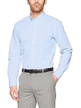 Xxl Str Oxford 5ar Camisa blue white Para Hackett Hombre Bengal zEqT47
