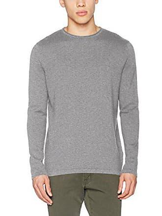 Pullover grey M Springfield Herren Cuello 43 Grau Jersey Redondo Básico Aw5Pqw0