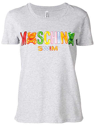 Moschino shirt Logoprint T Grijs Met YYU8W1