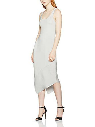 40 K Femme taille moon Rib m Filippa Fabricant Tank Shiny Dress Gris Robe pndxF