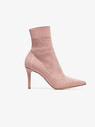 Stretch Booties Ankle Bouclé 85 Fiona Fabric Rossi Pink Gianvito fWxwB6OqUa