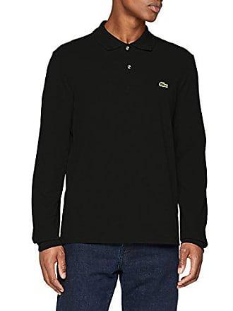 Polo noir Para Hombre talla Del Lacoste Manga Negro Fabricante L1312 Larga 031 7 De 2xl Xw81f