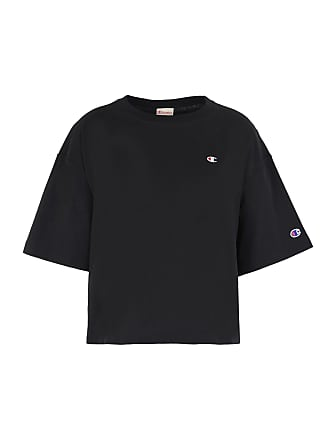 Oversize T shirts Topwear C Small Reverse T Cropped Champion shirt Crewneck Logo Weave RqpTgfa