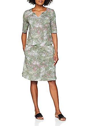 Kleid 5098 Gewirke 48 weiss grün Para Mujer Vestido Weber Druck Gerry ecru 5gqRa