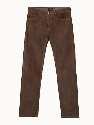 Veloursleder Trousers Hose Braun Tod's Aus L ERCqnw