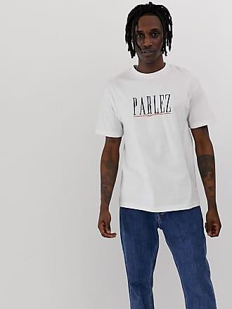 Clothing Sport logo Mit Weiß shirt Parlez Aufgesticktem JohnsonWeißes T shBtQdroCx