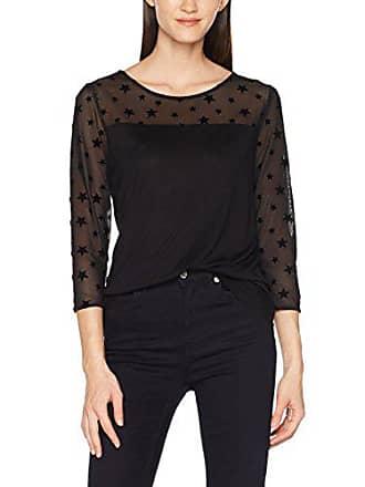 44 € De Manga Larga Compra Desde Stylight Camisetas Negro Mujer 6 86FFRq 1d7757745439f