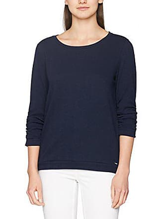 Damen Sweatshirt Sleeve Gathered StructSweat Tailor Tom hrCstQxd