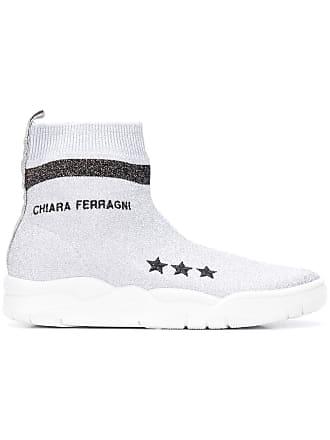 Classiques Métallisé Baskets Ferragni chaussettes Chiara Ow7tvqO