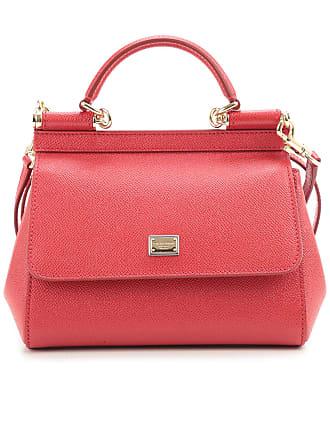 Umhängetasche Leder Damen 2017 One Für amp; Rot Dolce Size Gabbana UxnnEY
