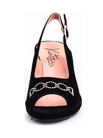 La Avec Femme Noir Chaussure 5738v Katrin Cale pAtq1awx