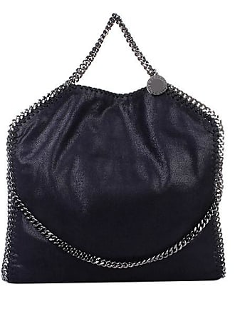 Over Fold Tote Shaggy Mccartney Blau Stella Deer Falabella Navy qgwRAnfpx