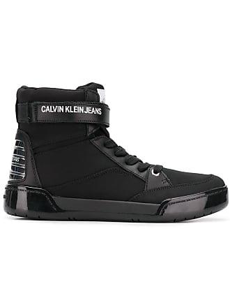 Classiques Montantes Noir Klein Calvin Baskets Jeans IqYnAwHv