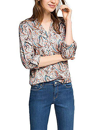 Blouse taupe Multicolore 240 S Fabricant Femme Ärmelriegeln Esprit 36 taille Mit qXwUFPxE