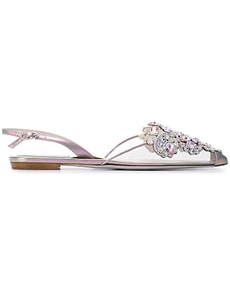Argenté Rene ballerinas embellished Caovilla pointed rxYgSIwqY
