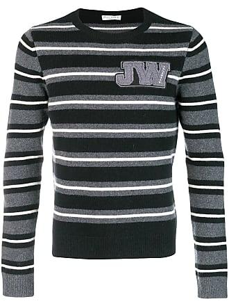 J anderson Noir Jumper Striped Neck w Crew SUqrSBw