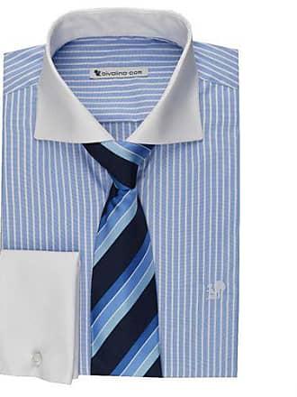 Und Kraag Bivolino Herrenhemd Streifen Kontrast Manschetten Bengal Taino wxxaqYZFR1