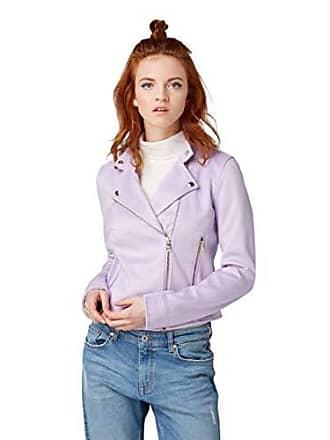 Para Chaqueta Kunstlederjacke Violett Denim M Mujer Wildlederlook Im Tom Tailor 15614 lavender gAYXUU