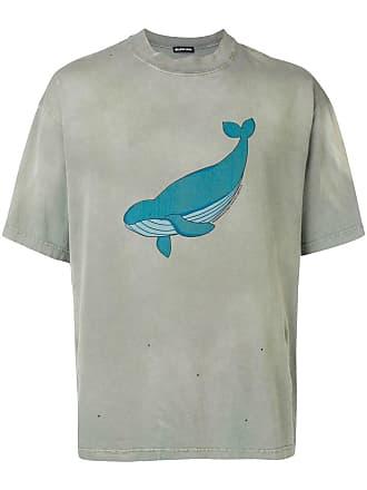 Balenciaga à T GraphiqueVert shirt Imprimé eWCrdxEBoQ