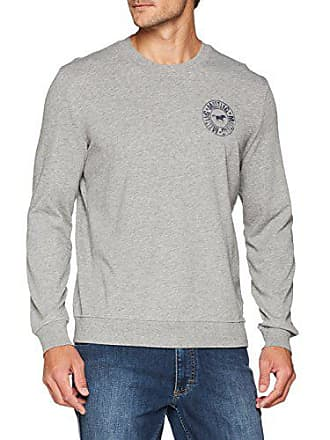 X Gris Grey Mustang 4140 large Sweater mid Para Melange Sudadera Hombre zqwx1fBI