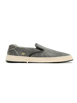 Détail Chaussures De à Osklen Skate BrodéGris HI2eWE9DY