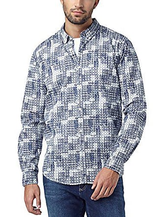 Bleu Homme Authentic Shirt Print Large 45 Chemise Over night All Sky 583 Jeans Pioneer Casual taille Fabricant 8dXwaa
