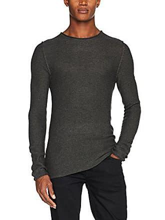 Melange Casual dark 20501199 50818 Large Friday Herren Grau Pullover Grey qqUZwO