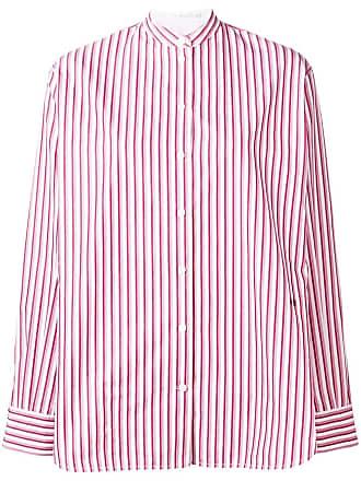 Victoria Victoria Beckham Shirt Blanc Grandad Beckham TrnT75q1w