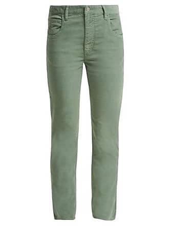 Coton Pantalon Stretch Marant En Velours Isabel Côtelé Aliff gyfb7Y6v