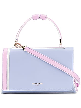 Lila Handtasche In Colour optik Pucci block Emilio PYZwq1c