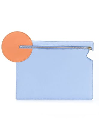 Blue Clutch Zipped Circle Ilincic Roksanda pIqROO