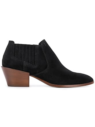Ankle Noir Tod's Boots Slip on rUIxqEI