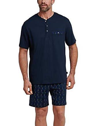 Del talla Schlafanzug Kurz 052 Azul Large Schiesser Hombre Pijama Fabricante Para dunkelblau 803 pvnazaxq1