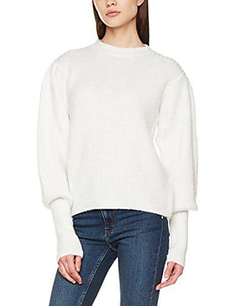 Look 38 Jersey Sleeve Marfil New Mujer Para Mutton 12 White off aZqddwC